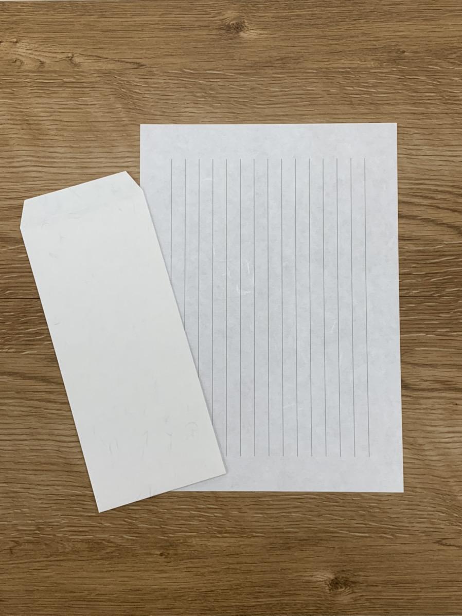 オリジナル和紙便箋